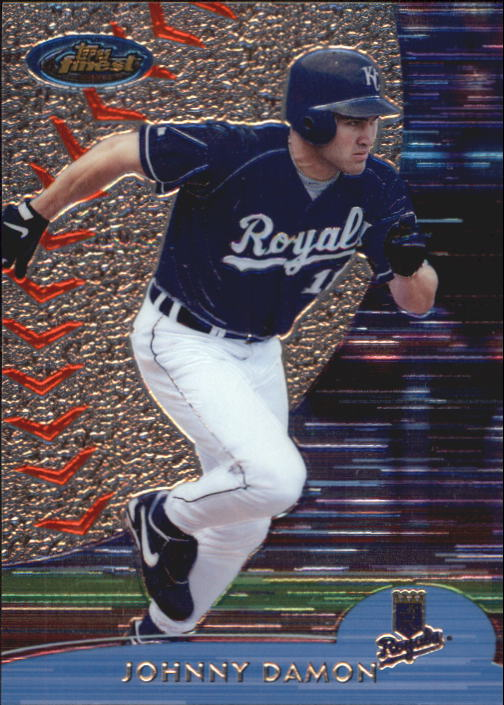2000 Finest #217 Johnny Damon