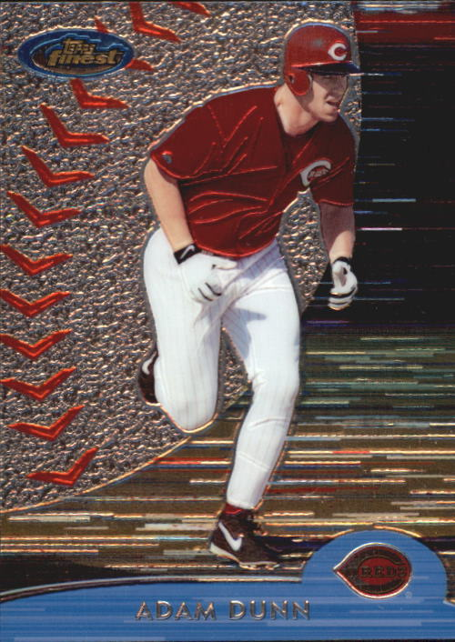 2000 Finest #241 Adam Dunn
