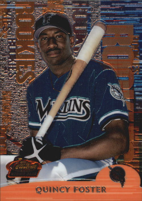 2000 Finest #263 Quincy Foster RC