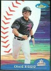2000 Finest Refractors #205 Craig Biggio