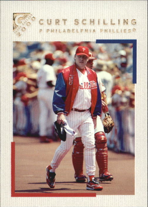 2000 Topps Gallery #55 Curt Schilling
