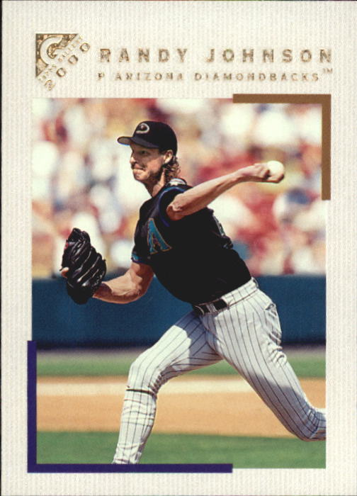 2000 Topps Gallery #62 Randy Johnson