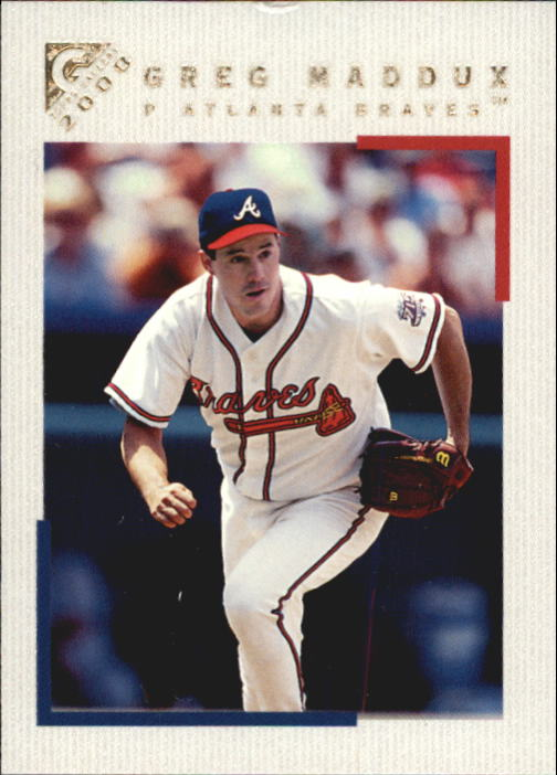2000 Topps Gallery #84 Greg Maddux front image