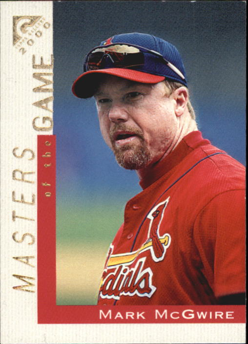 2000 Topps Gallery #101 Mark McGwire MAS