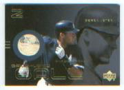 2000 Upper Deck Gold Reserve Game Ball #BDJ Derek Jeter