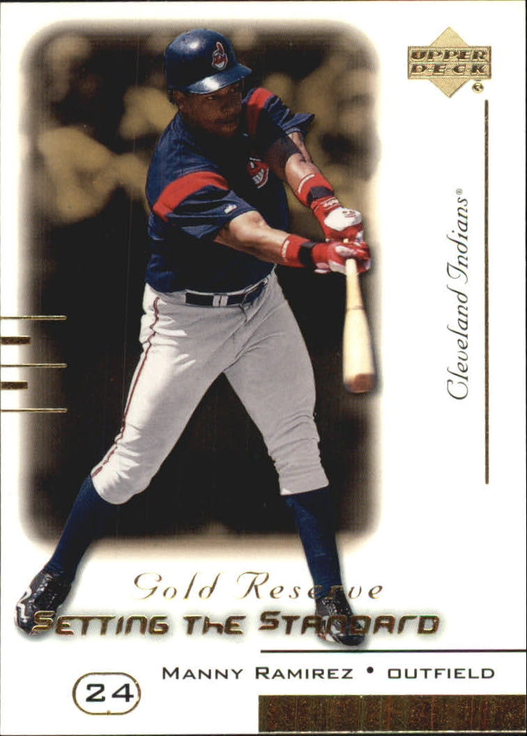 2000 Upper Deck Gold Reserve Setting the Standard #S2 Manny Ramirez