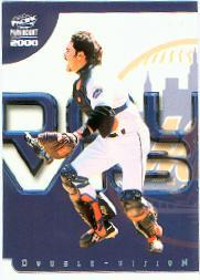2000 Paramount Double Vision #10 Mike Piazza