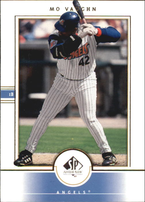 2000 SP Authentic #1 Mo Vaughn