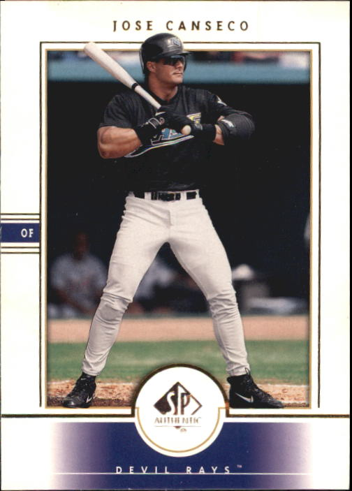 2000 SP Authentic #9 Jose Canseco
