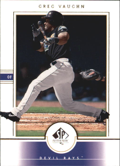 2000 SP Authentic #11 Greg Vaughn