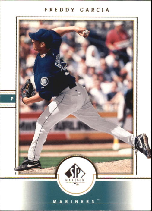 2000 SP Authentic #17 Freddy Garcia