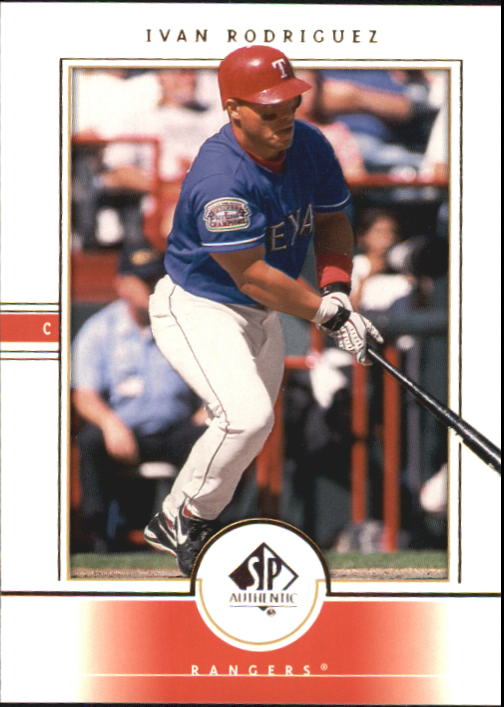 2000 SP Authentic #22 Ivan Rodriguez