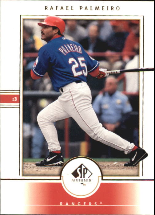 2000 SP Authentic #24 Rafael Palmeiro