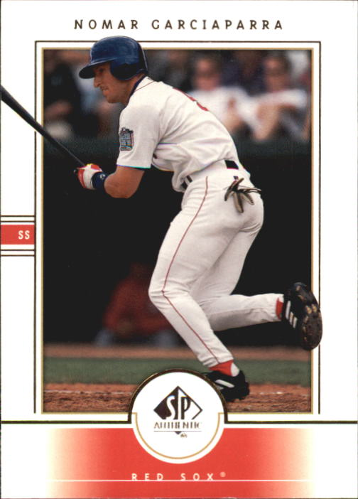 2000 SP Authentic #25 Nomar Garciaparra