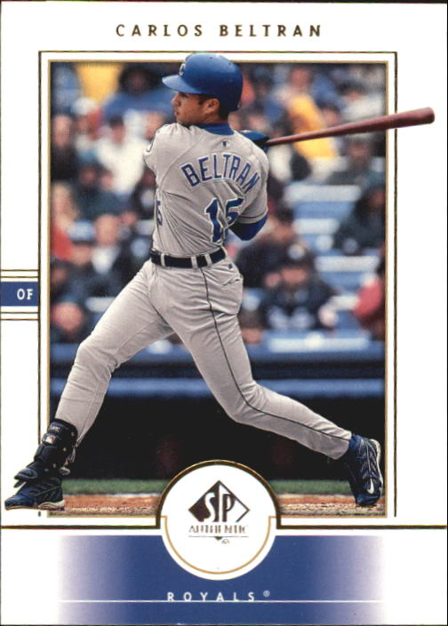 2000 SP Authentic #28 Carlos Beltran