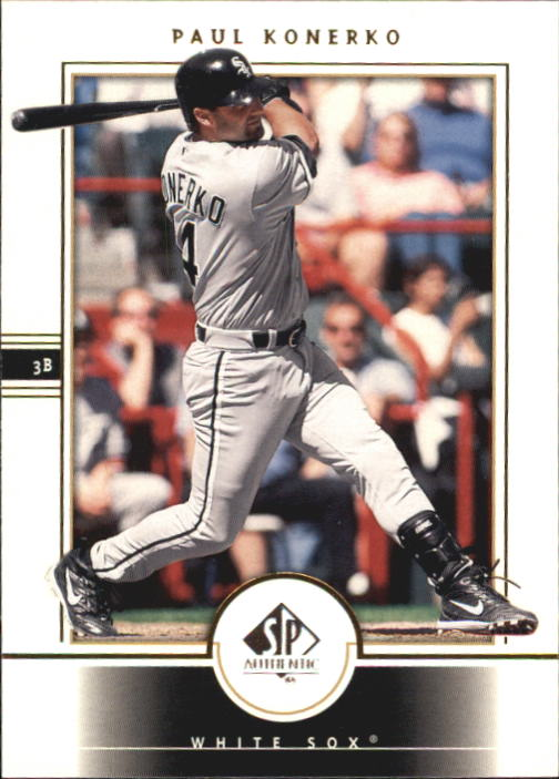 2000 SP Authentic #35 Paul Konerko