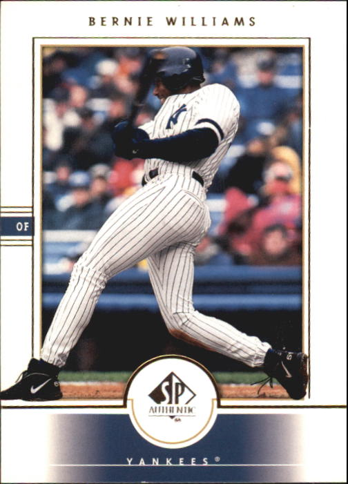 2000 SP Authentic #37 Bernie Williams