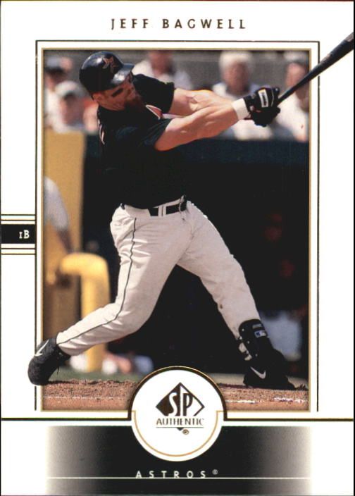 2000 SP Authentic #41 Jeff Bagwell