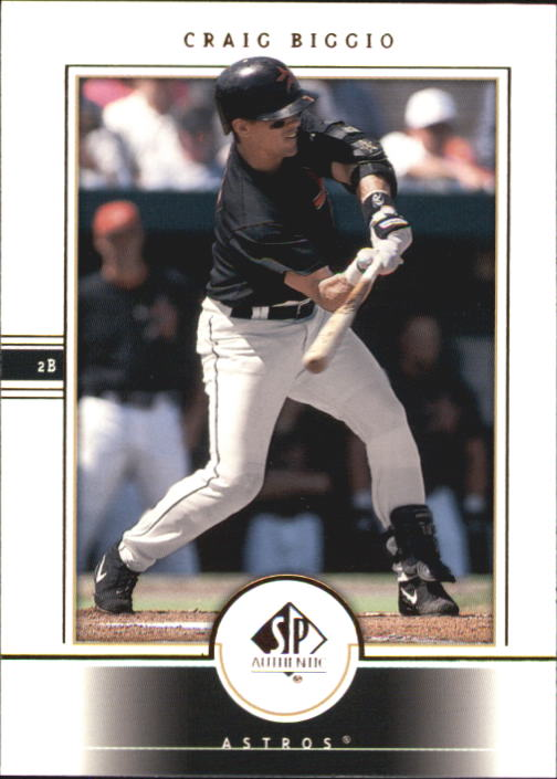 2000 SP Authentic #42 Craig Biggio