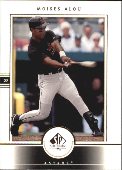 2000 SP Authentic #44 Moises Alou