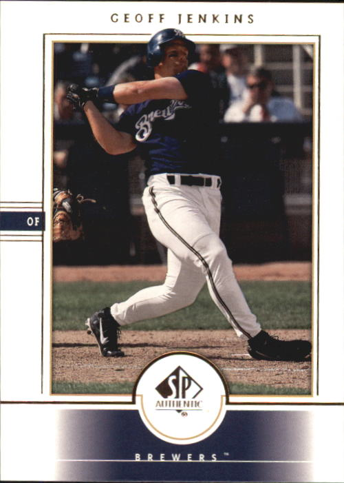 2000 SP Authentic #50 Geoff Jenkins