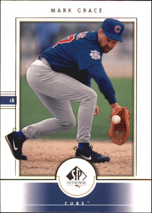 2000 SP Authentic #56 Mark Grace