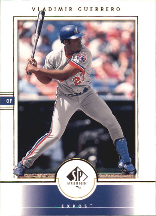 2000 SP Authentic #63 Vladimir Guerrero