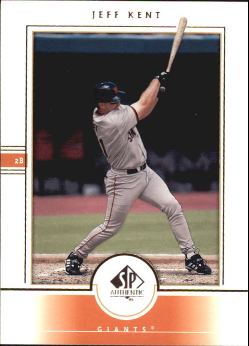 2000 SP Authentic #66 Jeff Kent