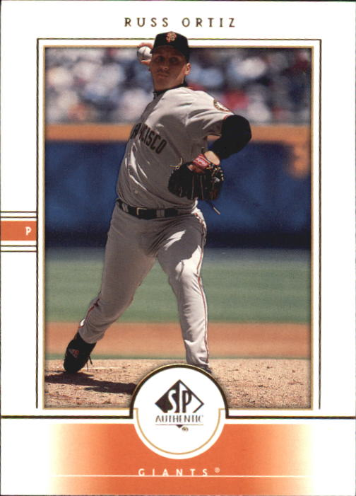 2000 SP Authentic #67 Russ Ortiz