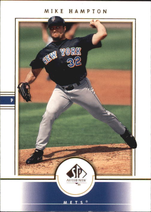2000 SP Authentic #71 Mike Hampton