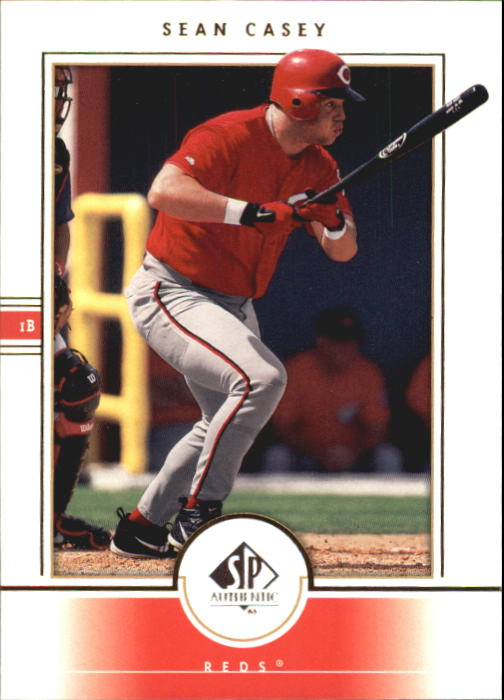 2000 SP Authentic #85 Sean Casey