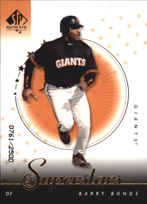 2000 SP Authentic #102 Barry Bonds SUP