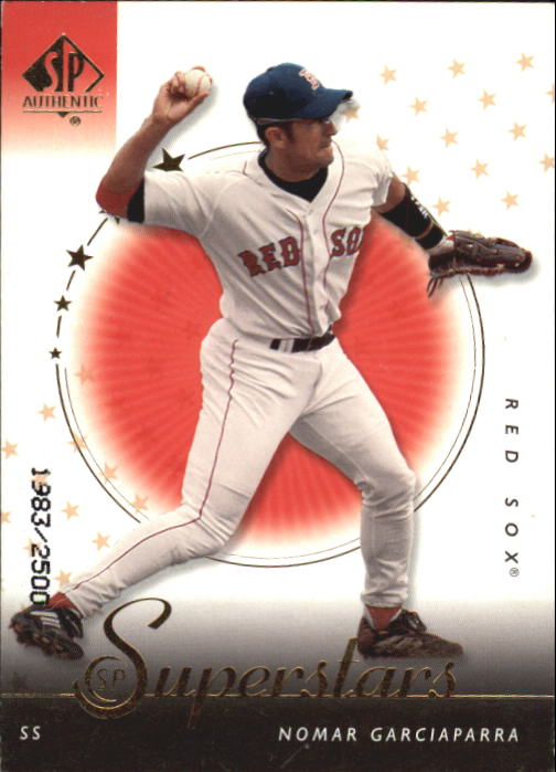 2000 SP Authentic #104 Nomar Garciaparra SUP