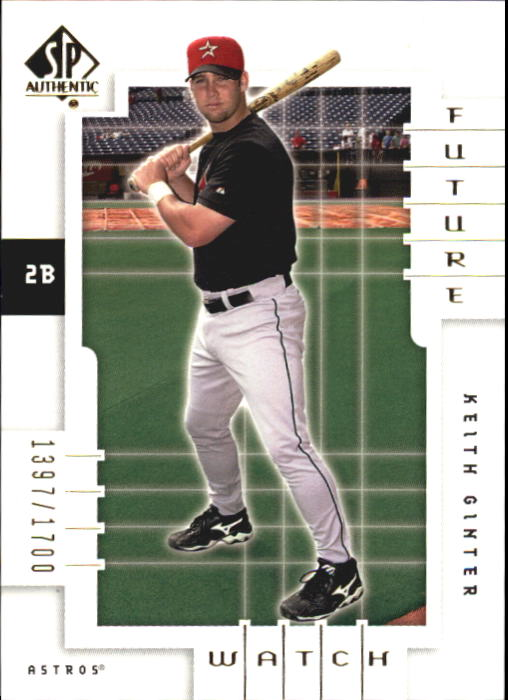 2000 SP Authentic #154 Keith Ginter FW RC