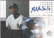 2000 SP Authentic Chirography #AS Alfonso Soriano