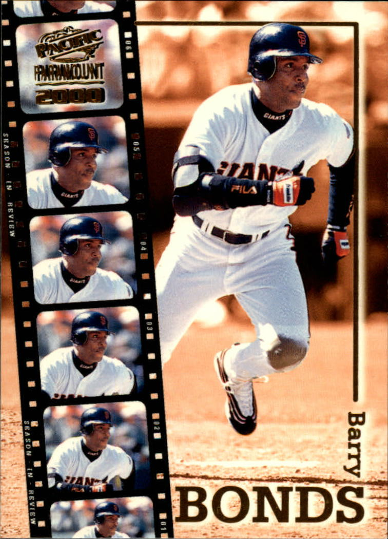 2000 Paramount Season in Review #24 Barry Bonds