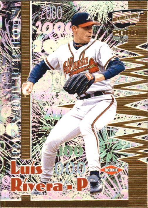 2000 Revolution #17 Luis Rivera SP RC