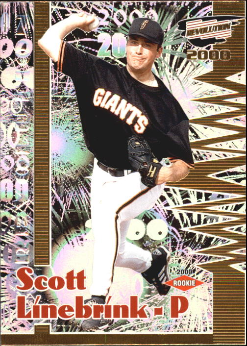 2000 Revolution #130 Scott Linebrink SP RC