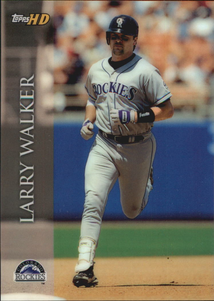 2000 Topps HD #20 Larry Walker