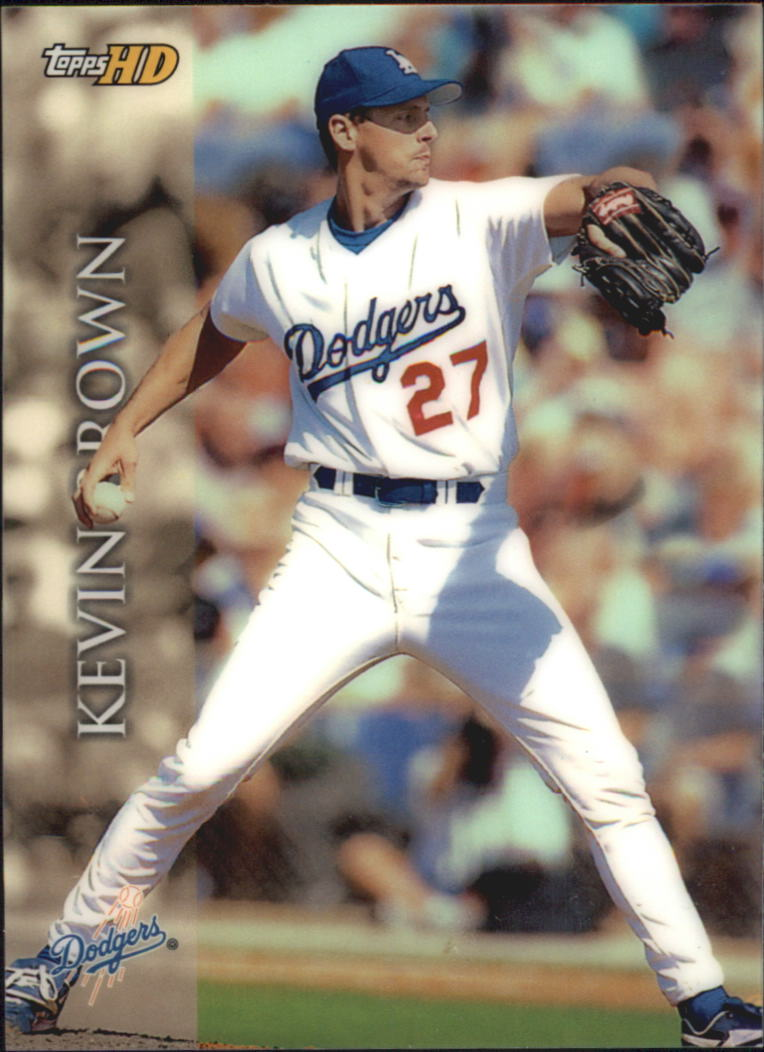 2000 Topps HD #85 Kevin Brown