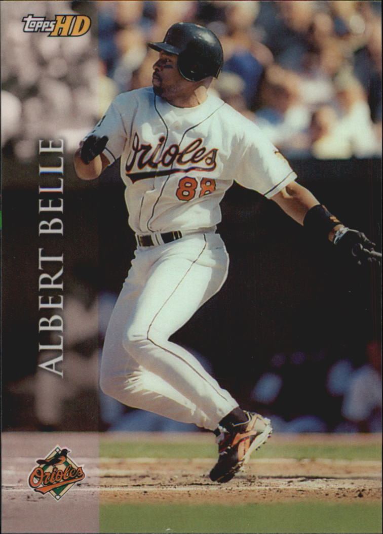 2000 Topps HD #88 Albert Belle