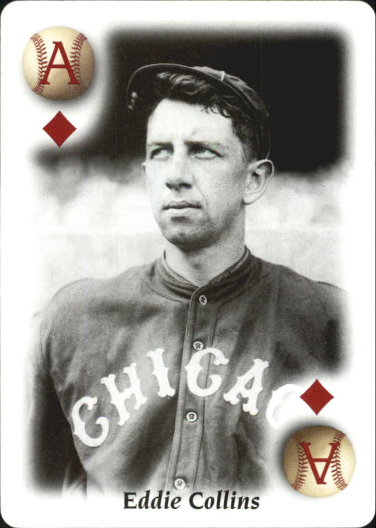 2000 U.S. Playing Card All Century Team #1D Eddie Collins