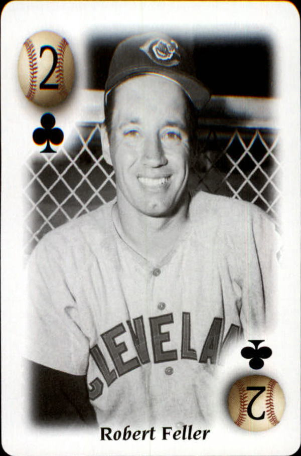 2000 U.S. Playing Card All Century Team #2C Bob Feller