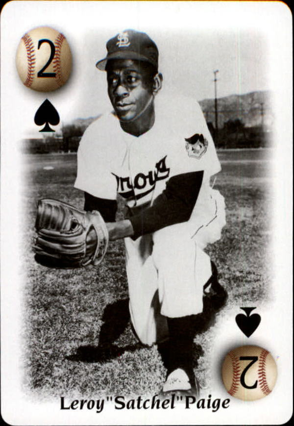 2000 U.S. Playing Card All Century Team #2S Satchel Paige