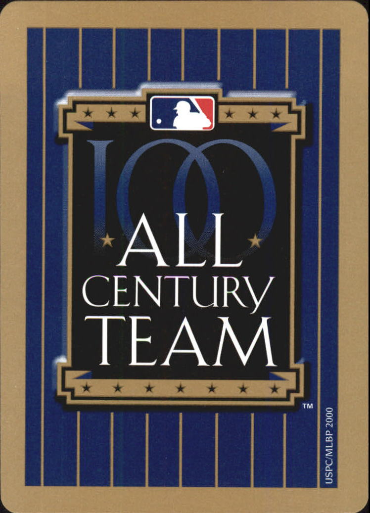 2000 U.S. Playing Card All Century Team #3D Honus Wagner