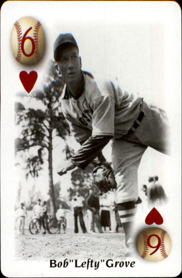 2000 U.S. Playing Card All Century Team #6H Lefty Grove