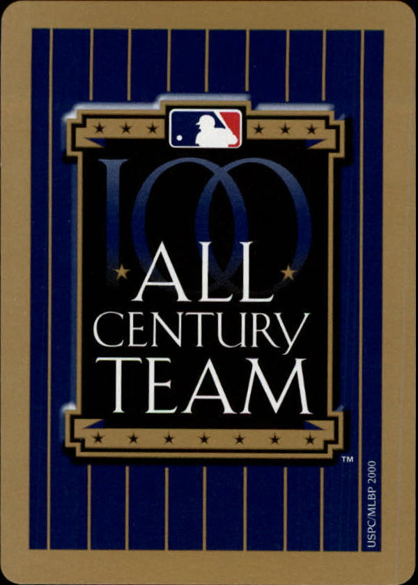 2000 U.S. Playing Card All Century Team #13H Carlton Fisk