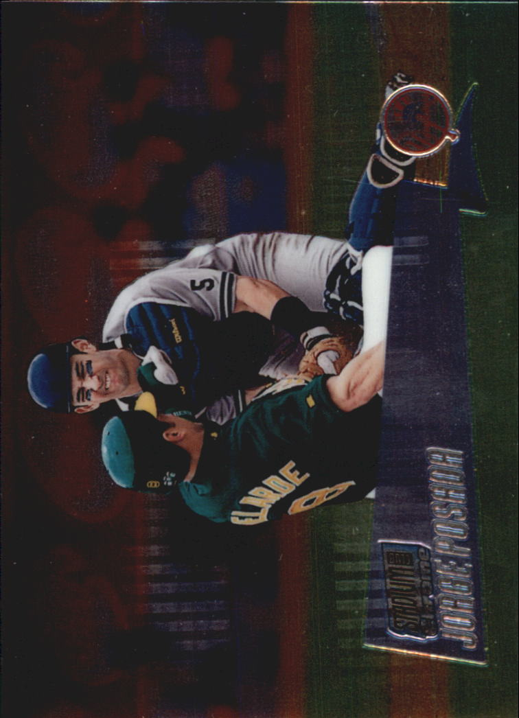 2000 Stadium Club Chrome #32 Jorge Posada
