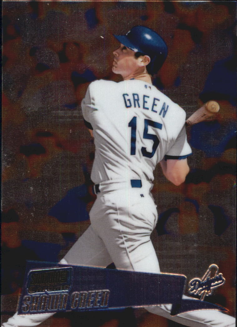 2000 Stadium Club Chrome #38 Shawn Green