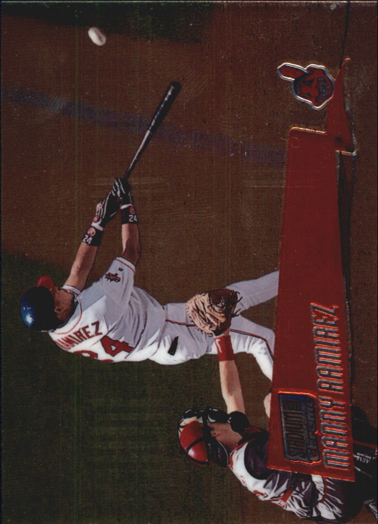 2000 Stadium Club Chrome #95 Manny Ramirez